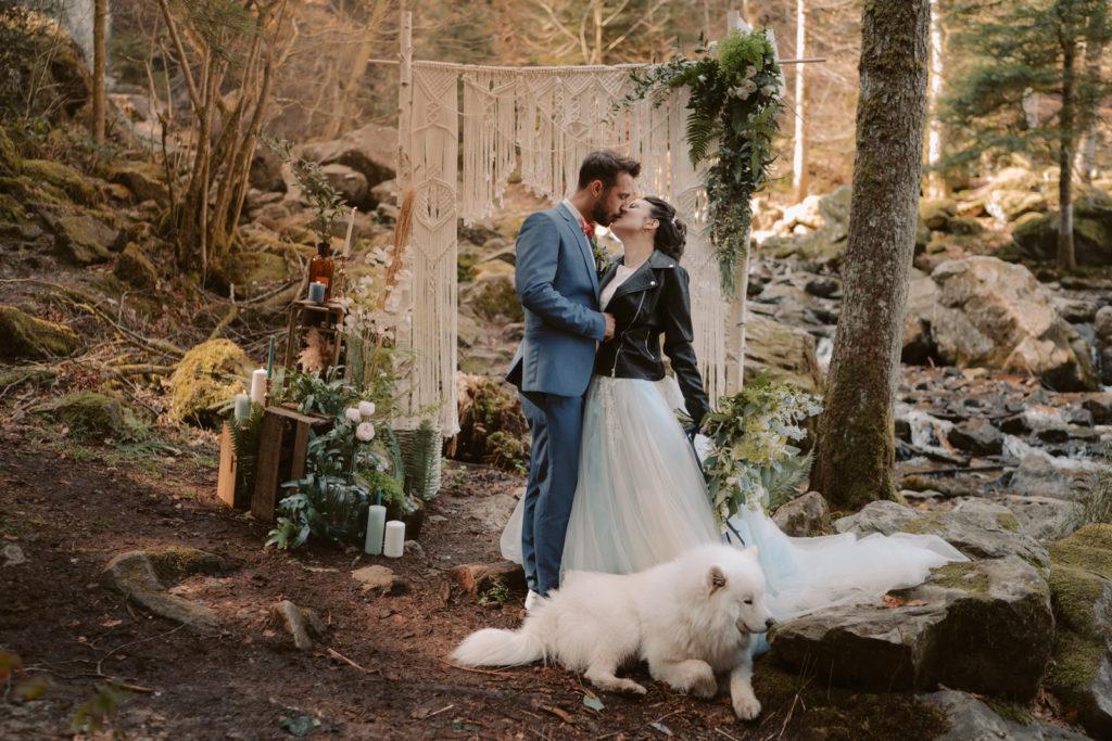 shooting d'inspiration dédié au mariage